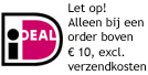 Betalen per Ideal van 10 euro