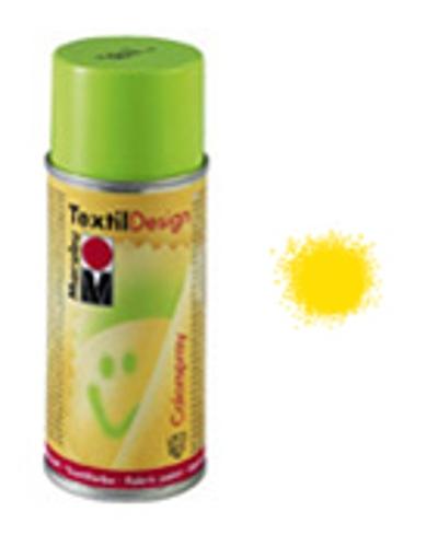 Marabu, TextilDesign Colorspray 021 midden geel