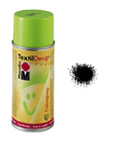 Marabu,TextilDesign Colorspray 073 zwart