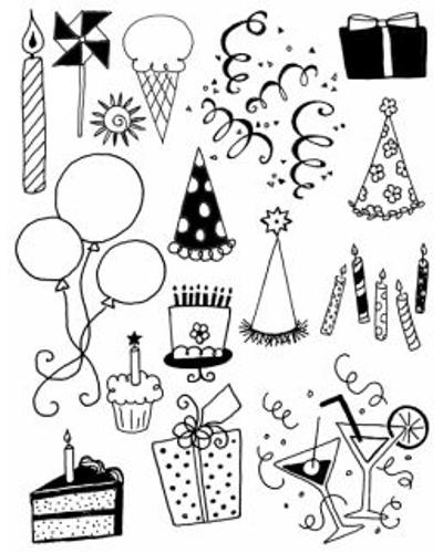 Artemio, Clear Stamp 1004 feest