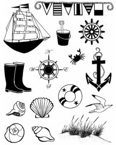 Artemio, Clear Stamp 1007 zee/strand
