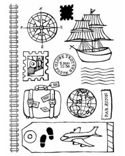 Artemio, Clear Stamp 1017 schepen/reizen