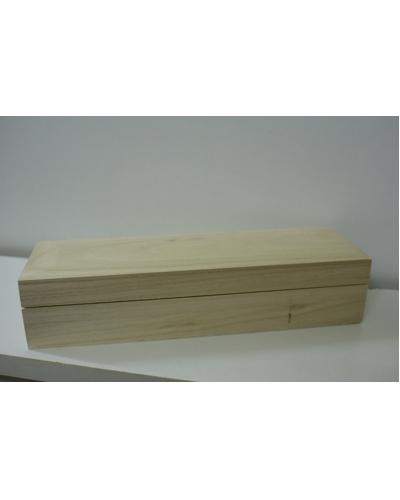 Artemio, Houten doosje 25  x 7,5  x 5,5 cm