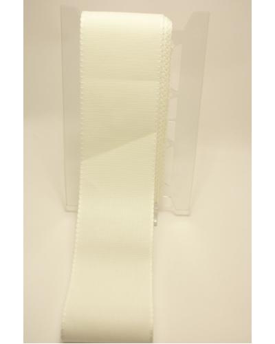 Aidaband 10 cm breed, kleur wit per 10 cm