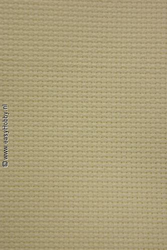 Aida handwerkstof 150cm breed 5,5/cm kleur ecru per 10 cm