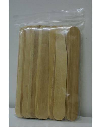 Knutselhoutjes, ca 50st 15x1,9cm