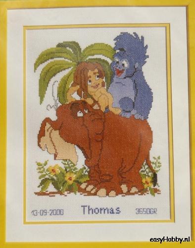 Geboortetegel, Tarzan