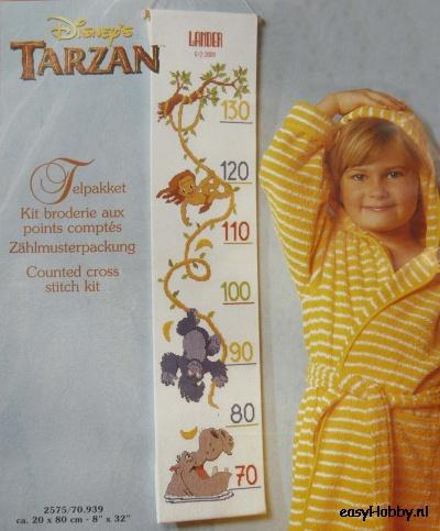 Tarzan, meetlat