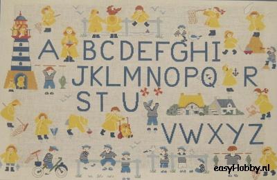 A B C, 'kleine gele zeilers'
