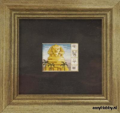 Egyptische motieven 5,  12x13cm