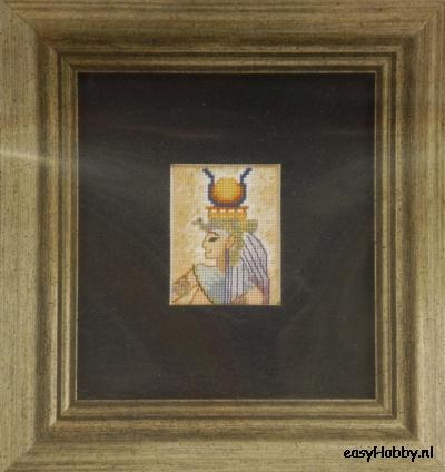 Egyptische motieven 3,  12x13cm