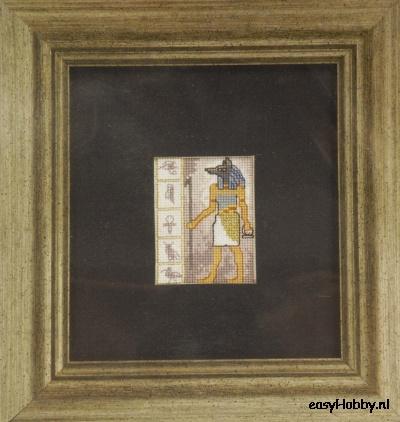 Egyptische motieven 4,  12x13cm