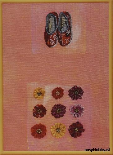 Bloemen & pantoffels