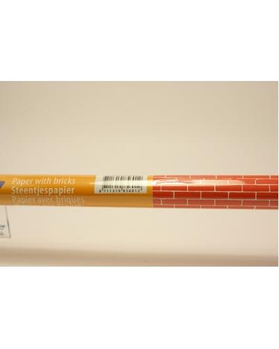 Steentjespapier 2 vel 50 x 70cm op rol