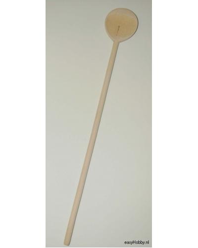 Houten kooklepel,100 cm rond