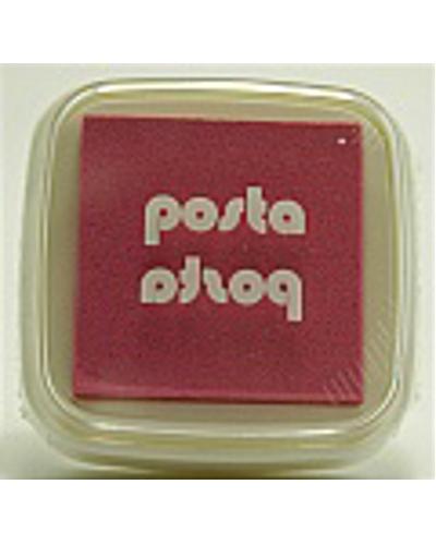 Stempelkussen kleur fel roze 4,5 cm