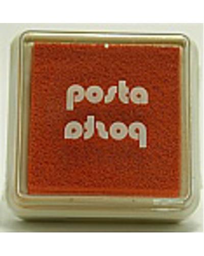 Stempelkussen kleur oranje 4,5 cm