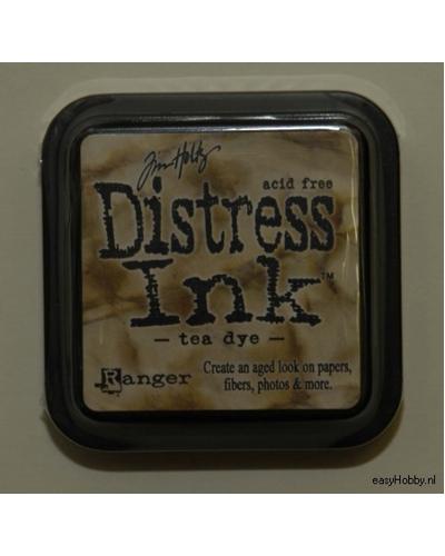 Stempelkussen Distress Ink kleur theekleur