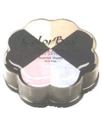 Colorbox Petal Point Pigment option pad kleur essential shades
