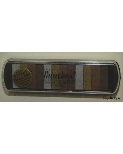 Colorbox paintbox precious metals (zilver, goud, koper, brons)