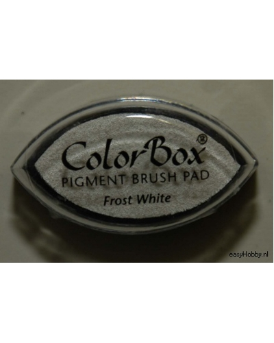 Stempelkussen color box kleur sneeuwwit