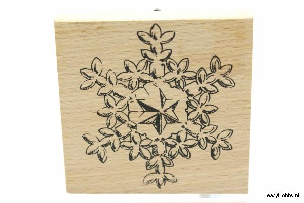 Stempel Sneeuwkristal