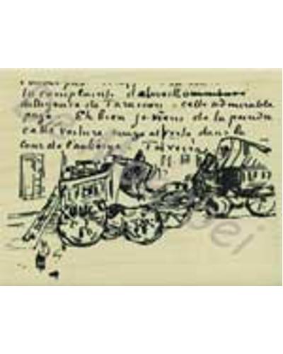 Stempel, Van Gogh rijtuig