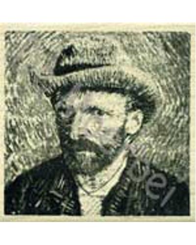 Stempel, Van Gogh zelfportret
