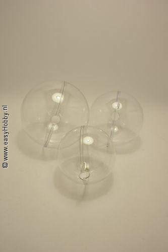 Set transparant ballen voor lichtkogels