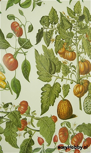 Italiaans decoupagepapier Tomaten en pepers