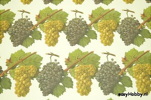 Italiaans boekbinderspapier Druiven