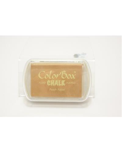 Stempelkussen colorbox chalk peach pastel  7 x 5 cm