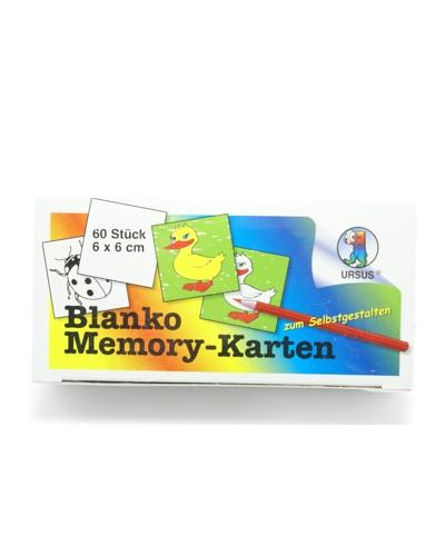 Memory kaarten blanco