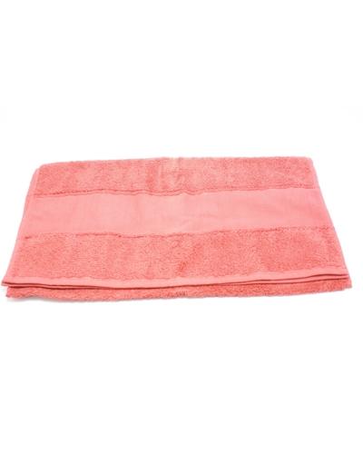 Handdoek 50 x 100 cm  kleur  terracotta