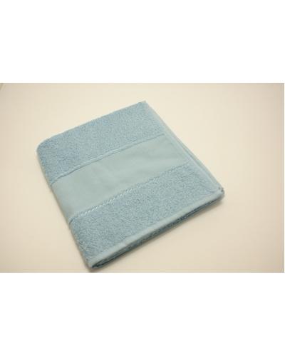 Handdoek 50 x 100 cm  kleur  Licht blauw