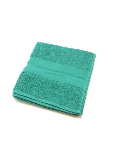 Handdoek 50 x 100 cm  kleur  zeegroen