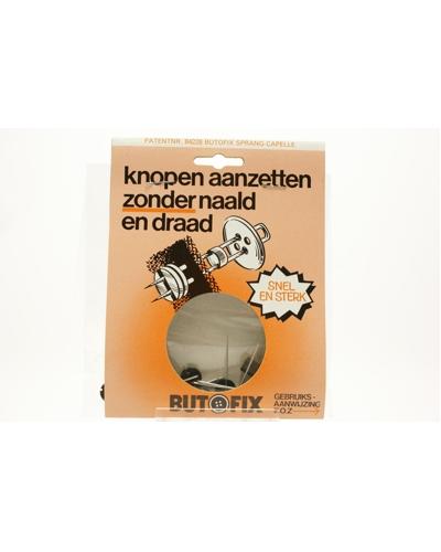 Butofix, Knopen aanzetten zonder naald en draad