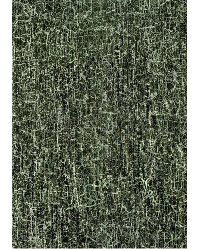 Decopatchpapier  111 - 469 Zwart met zilver craquele