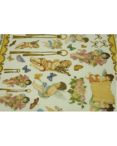 Italiaans decoupagepapier barok