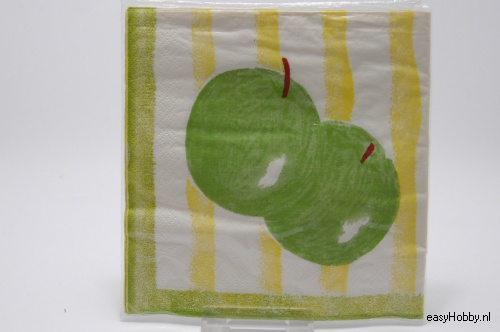 4 Servetten, Appels (74)