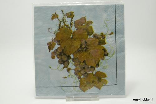 4 Servetten, Tros druiven (221)