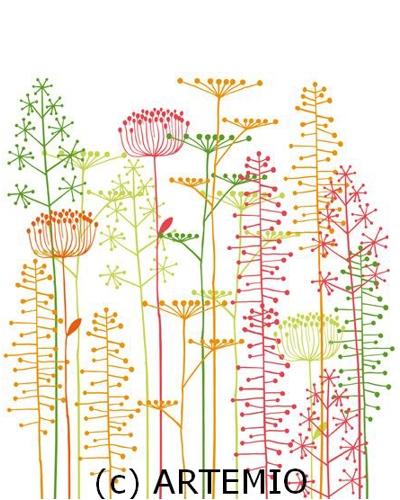 Artemio Clearstamp, planten