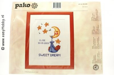 Geboortepakket  sweet dream