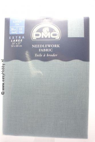 DMC handwerkstof  linnen midden blauw