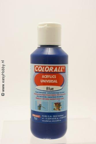 Acrylverf universeel blauw