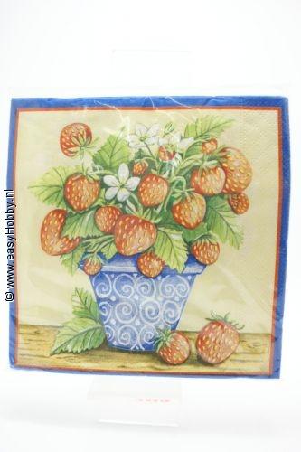 4 servetten aardbeien (22)
