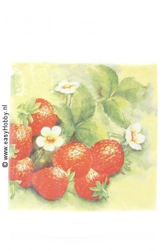 4 servetten aardbeien (23)