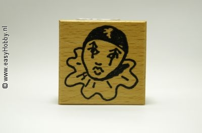 Stempel, Pierrot/clown