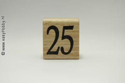 Stempel, Getal 25