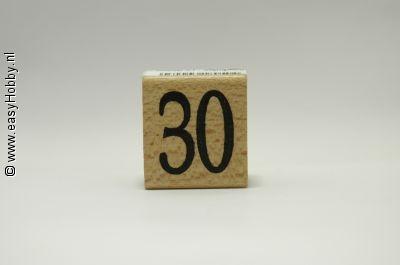 Stempel, Getal 30
